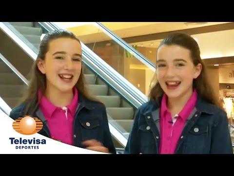 Juego de gemelas - Broma en el centro comercial