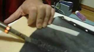 getlinkyoutube.com-バンパー補修 リペアー Bumper repair with Soldering Iron