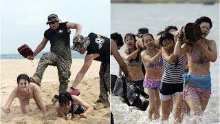 Beratnya Latihan Pengawal Pribadi Wanita di China, Layaknya Latihan Militer