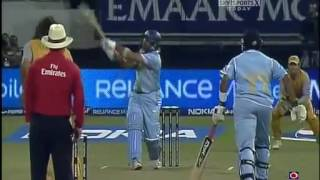 getlinkyoutube.com-INDIA v AUSTRALIA HIGHLIGHTS ICC World Twenty20, 2nd Semi Final Sep 22, 2007   YouTube 360p