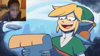 getlinkyoutube.com-BEST Zelda Rap EVER!! ANIMATED MUSIC VIDEO REACTION | BEST RAP EVER