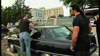 nWo Destroys Luger's Car 9/14/96