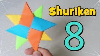 getlinkyoutube.com-Shuriken Origami - Estrella Ninja de Papel