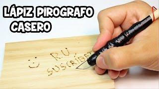 getlinkyoutube.com-Lápiz Pirografo Casero para Grabar en Madera