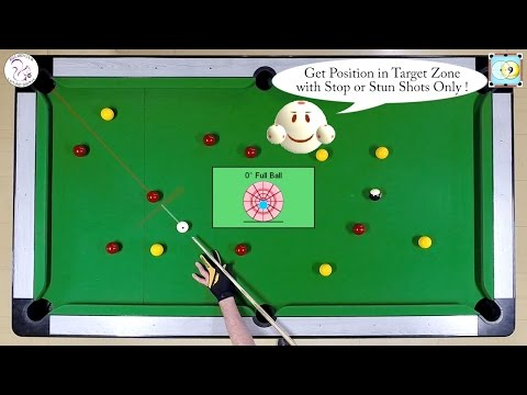 BlackBall Exercise #17 - Run Out with Stop Shots Only Drill 1 - Pool & Billiard Training Lesson