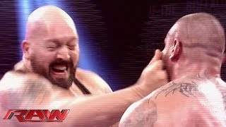 getlinkyoutube.com-A look at fired WWE Superstar Big Show: Raw, Oct. 14, 2013