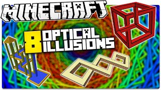 getlinkyoutube.com-Minecraft | 8 IMPOSSIBLE Illusions That MESS With Your Head! (Minecraft Illusions / Custom Map)