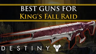 Destiny - King's fall: The best weapons to use in the Raid!