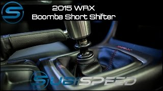 getlinkyoutube.com-Subispeed - 2015 WRX Boomba Short Throw Shifter Install