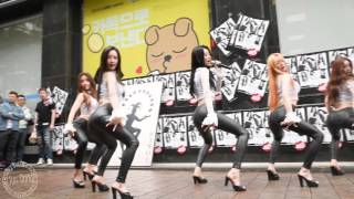 getlinkyoutube.com-[150503] 달샤벳 Joker 직캠 - 명동 예술극장 게릴라