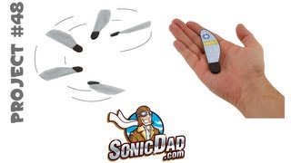 getlinkyoutube.com-Make a Miracle of Nature: SonicDad Project #48 - Sonic Mini Monocopter
