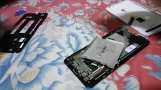 getlinkyoutube.com-Asus zenfone 5 change battery A500G TOOJ original form hong kong