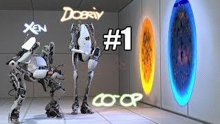 getlinkyoutube.com-Portal 2 Co-op - #1