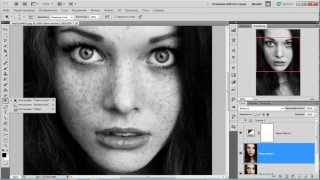 Как сделать красивая черно-белая фотография в фотошопе
