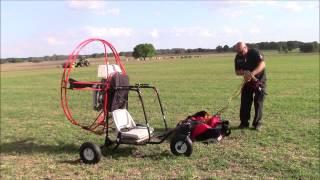 getlinkyoutube.com-How to Launch a Powered Paraglider Trike Capt. Kurt Fister Style