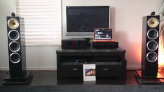 getlinkyoutube.com-Yamaha M-80 & CX-1000 & B&W cm10 & Teac UDH01 test