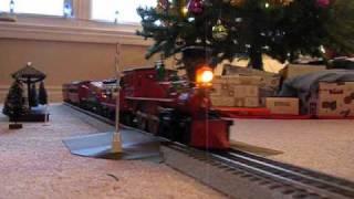 getlinkyoutube.com-Christmas Train IV - Lionel General 4-4-0