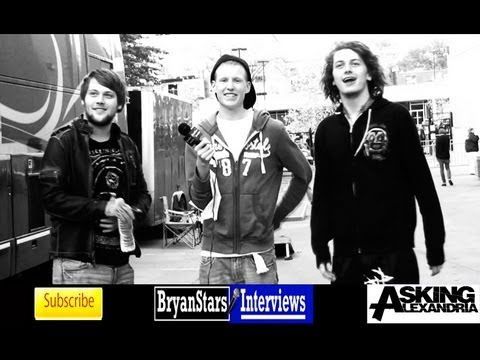 Asking Alexandria Interview #2 Danny Worsnop &amp; Ben Bruce 2012