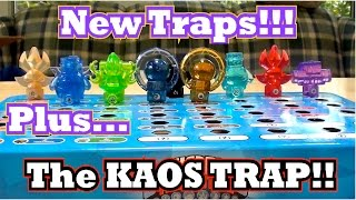 getlinkyoutube.com-Skylanders Trap Team - Package Unboxing Part 4 - All 8 Element Traps and the Kaos Trap!