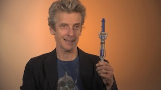 getlinkyoutube.com-A sneakpeek of The Doctor's newSonic Screwdriver - Doctor Who: Series 9 (2015) - BBC