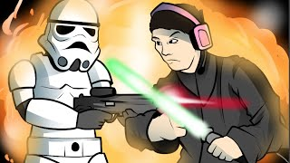 getlinkyoutube.com-Star Wars Battlefront Funny Moments - Funny Battles & Game Modes! (Star Wars Battlefront Launch)