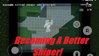 "getlinkyoutube.com-Pixel Gun 3D ""Becoming a Better Sniper w/ Prototype"" (iOS/Android)"