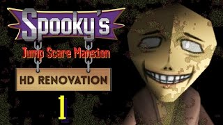 Spooky's Jump Scare Mansion HD Renovation [Part 1]
