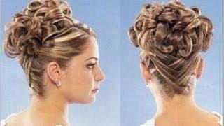 getlinkyoutube.com-Penteado para cabelo médio e longo
