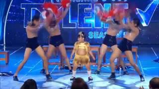 getlinkyoutube.com-น้องชบาแก้ว Thailand's Got Talent 5 รอบ Audition+Semi+Final