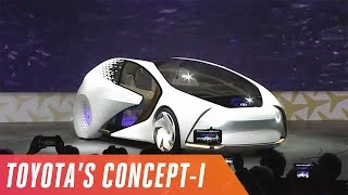 Toyota's Concept-i event in under 3 minutes
