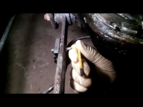 Mercedes W210 Rear Right Toe Arm replacement правый рычаг схождения