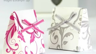 getlinkyoutube.com-Wedding Favour Box Tutorial using Stampin' Up! Supplies