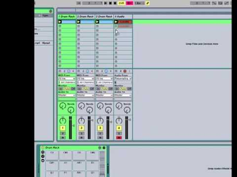 Resampling in Ableton Live
