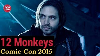 SDCC 2015: entrevista com Aaron Stanford de 12 Monkeys