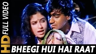 getlinkyoutube.com-Bheegi Hui Hai Raat Magar | Kumar Sanu, Kavita Krishnamurthy | Sangram 1993 Rain Song | Ajay Devgan
