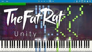 getlinkyoutube.com-TheFatRat - Unity - Piano Cover / Tutorial (with Sheet Music)