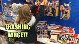 getlinkyoutube.com-WWE ACTION INSIDER: Target wrestling figure aisle! Mattel Superstars series 36, Battle Pack 25