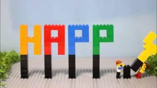 getlinkyoutube.com-LEGO結婚式オープニングムービー