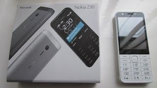 getlinkyoutube.com-Nokia 230 Dual Sim Mobile Phone Cell Phone Review, New Microsoft Nokia 2016, (Selfie Phone).