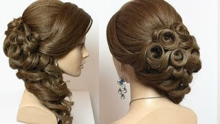 getlinkyoutube.com-Wedding bridal hairstyles for long hair tutorial
