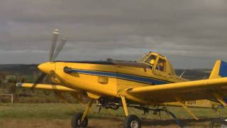 getlinkyoutube.com-Air Tractor 502 the best crop duster flying you will ever see guaranteed
