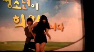 getlinkyoutube.com-고등학생들의 트러블메이커 커버 댄스