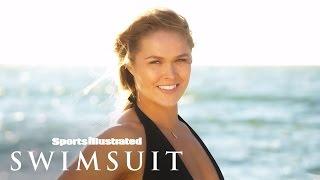 getlinkyoutube.com-Ronda Rousey On Set For Swimsuit Photoshoot | Sports Illustrated Swimsuit