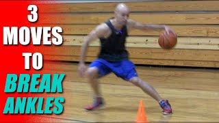 3 Basketball Moves To Break Ankles! How To: Best Crossover Moves | Snake