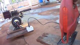 getlinkyoutube.com-Gerador elétrico caseiro