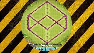 getlinkyoutube.com-● كلاش اوف كلانس ● افضل بناء قرية لحرب الكلان و الكوؤس ● تاون هول لفل 8 ● مكعب الموت ●
