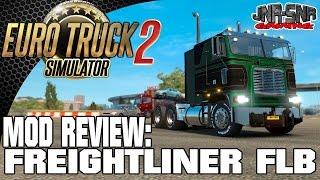 getlinkyoutube.com-Euro Truck Simulator 2 Freightliner FLB | ETS 2 MODS