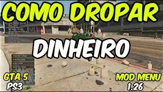 getlinkyoutube.com-GTA 5 1.26 - COMO DROPAR DINHEIRO [MONEY LOBBY] MOD MENU NO JAILBREAK