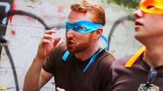 getlinkyoutube.com-How to Become a Teenage Mutant Ninja Turtle - Behind the Scenes
