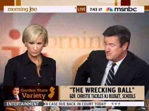 Governor Christie on MSNBC's Morning Joe